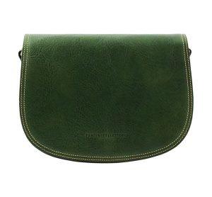 dames handtassen leder groen